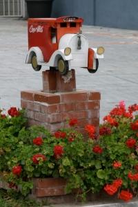 Coca Cola Truck Mailbox