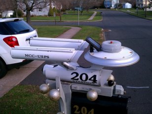 A Whimsical Mailbox