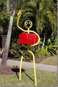 Waving Mailbox