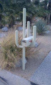Cactus Shaped Mailbox